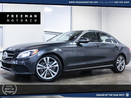 2015_Mercedes-Benz_C 300_Pano Backup Cam Blind Spot Assist Heated Sts_ Portland OR