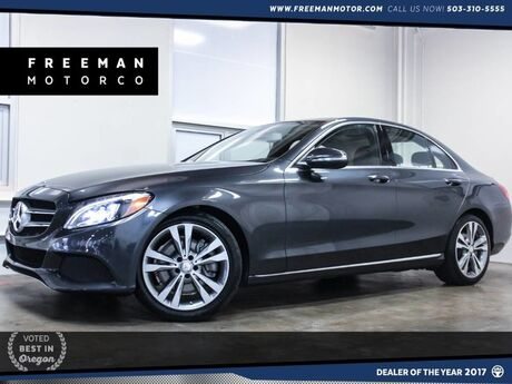 2015 Mercedes-Benz C 300 Pano Backup Cam Blind Spot Assist Heated Sts Portland OR