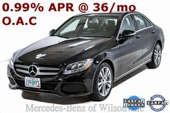 2015_Mercedes-Benz_C_300 Sedan_ Portland OR
