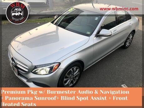 2015 Mercedes-Benz C 300 Sport 4MATIC w/ Premium Pkg Arlington VA