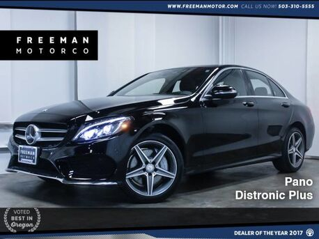 2015_Mercedes-Benz_C 400_4MATIC Pano Distronic Plus Heads-Up_ Portland OR
