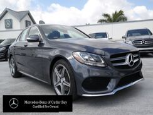 2015_Mercedes-Benz_C_4dr Sdn 300 Sport 4MATIC®_ Cutler Bay FL