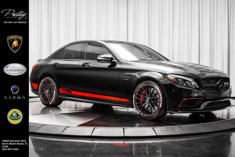 2015_Mercedes-Benz_C-Class_AMG C 63 S_ North Miami Beach FL