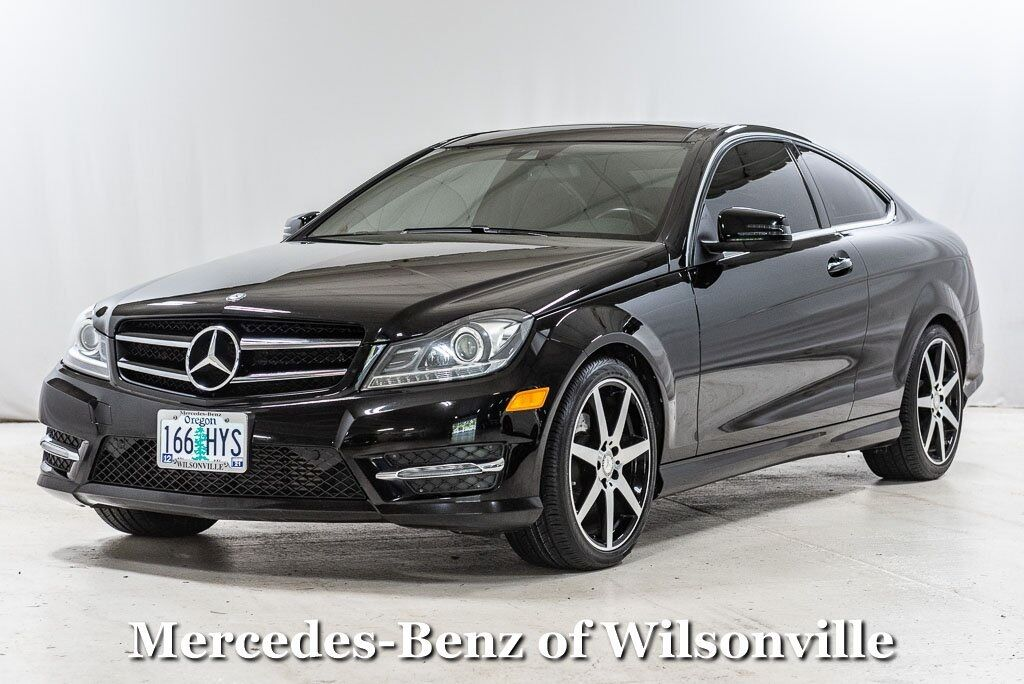 2015 Mercedes-Benz C-Class C 250 Coupe Wilsonville OR