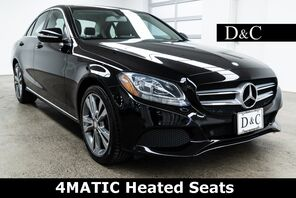 2015_Mercedes-Benz_C-Class_C 300 4MATIC Heated Seats_ Portland OR