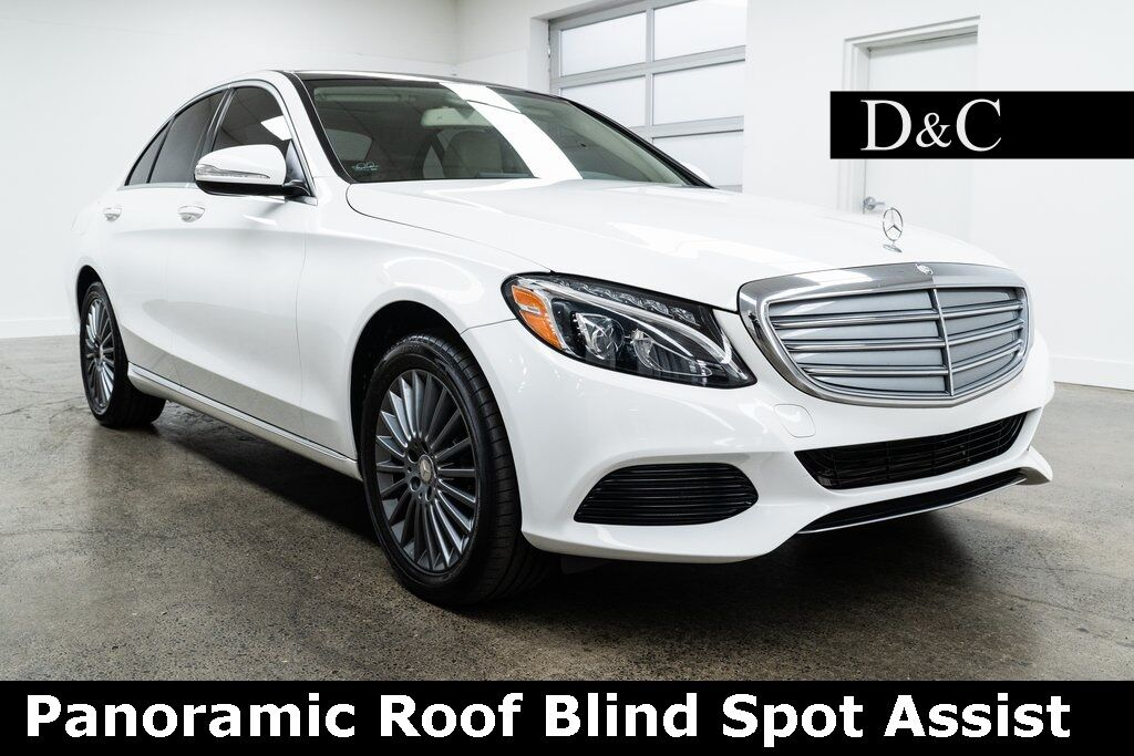 2015 Mercedes-Benz C-Class C 300 4MATIC Luxury Panoramic Roof Blind Spot Assist Portland OR