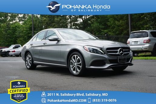 2015_Mercedes-Benz_C-Class_C 300 4MATIC® ** Pohanka Certified 10 Year/100,000  **_ Salisbury MD