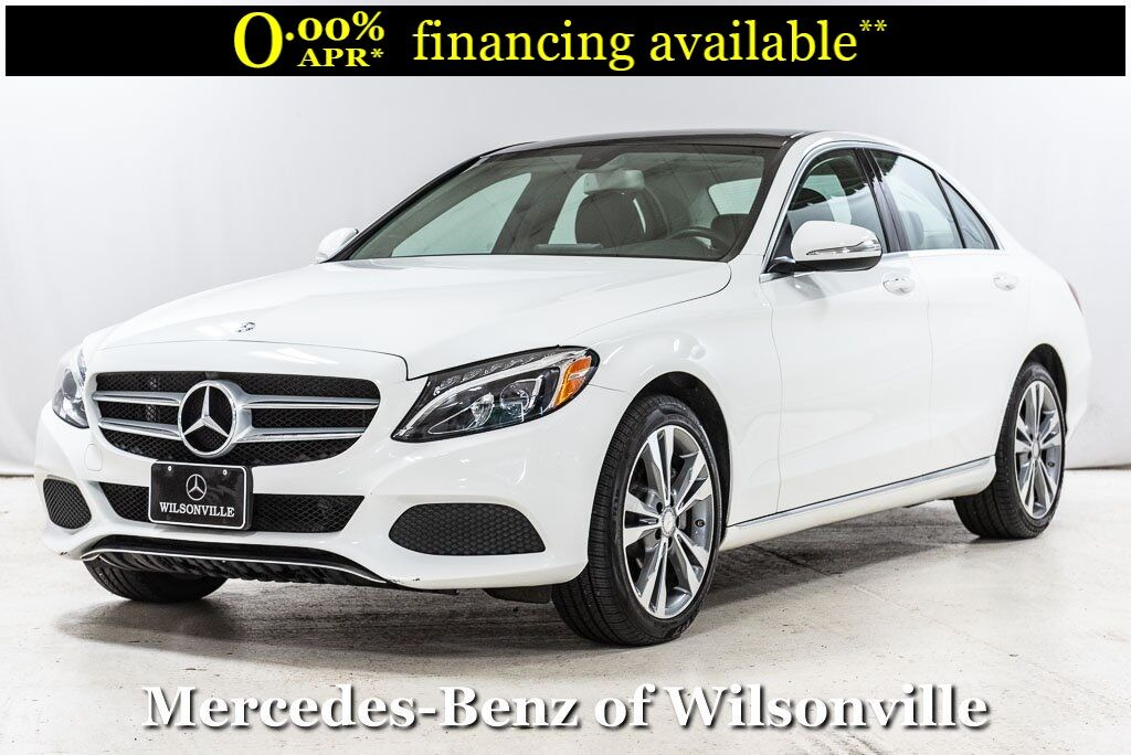 2015 Mercedes-Benz C-Class C 300 4MATIC® Sedan Wilsonville OR