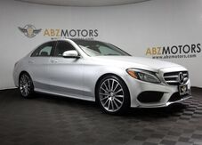 2015_Mercedes-Benz_C-Class_C 300 AMG,Pano Roof,Blind Spot,Burmester Sound_ Houston TX