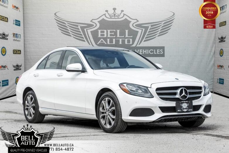 2015 Mercedes-Benz C-Class C 300, LIMITED PKG, BACK-UP CAM, NAVI, PANO ROOF, PARKTRONIC Toronto ON