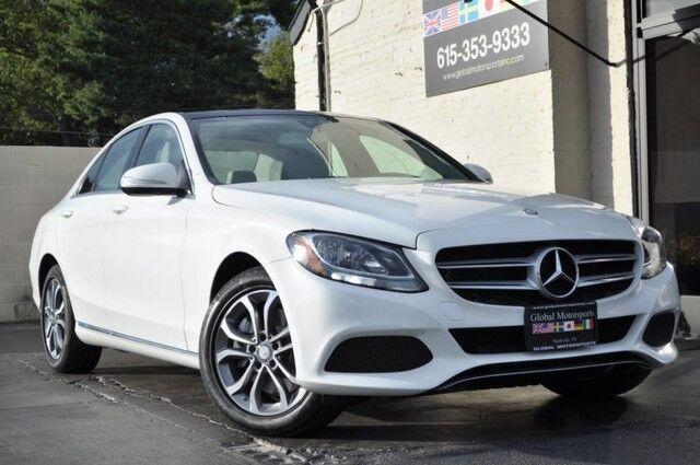 2015 Mercedes-Benz C-Class C 300 Luxury/4Matic/Navigation/Heated Front Seats/Panorama Roof/Sirius Satellite Radio/Linden Wood Trim Nashville TN