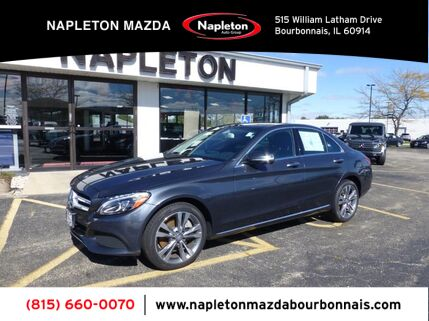 2015_Mercedes-Benz_C-Class_C 300 Luxury PANO ROOF, PREMIUM PACKAGE, BLIND SPOT_ Bourbonnais IL