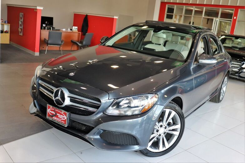 2015 Mercedes-Benz C-Class C 300 Luxury Panorama Blind Spot 18 Inch Wheels Springfield NJ