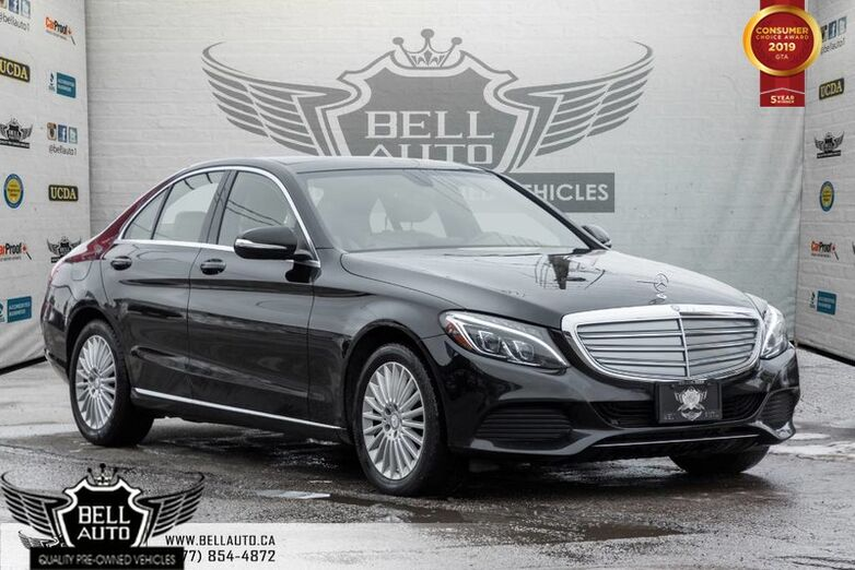 2015 Mercedes-Benz C-Class C 300, NAVI, BACK-UP CAM, LEATHER, PANO ROOF, HEATED/MEMORY SEAT Toronto ON