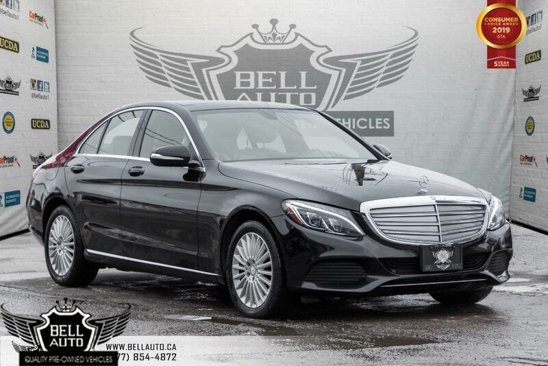 2015 Mercedes-Benz C-Class C 300, NAVI, BACK-UP CAM, LEATHER, PANO ROOF, HEATED/MEMORY SEAT