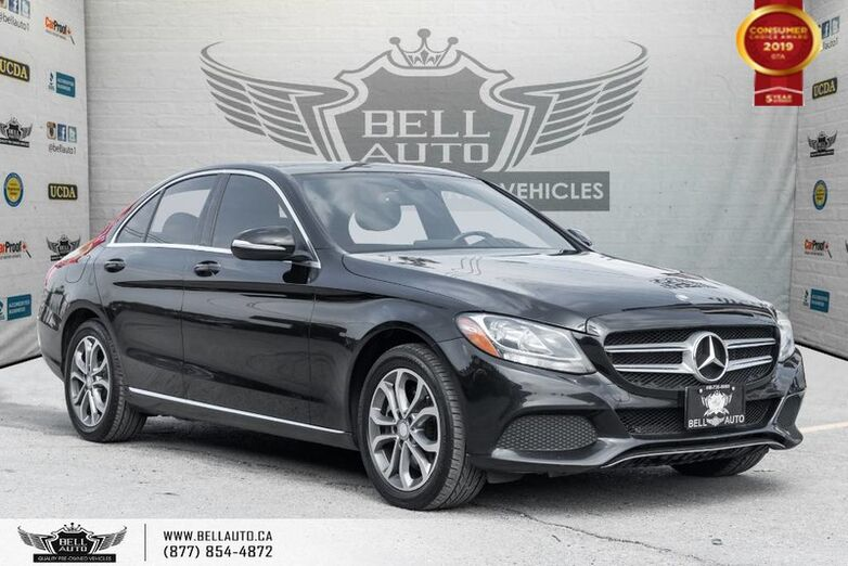 2015 Mercedes-Benz C-Class C 300, NAVI, BACK-UP CAM, PANOROOF, SENSORS Toronto ON