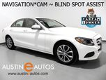 2015 Mercedes-Benz C-Class C 300 *NAVIGATION, BLIND SPOT ASSIST, BACKUP-CAMERA, KEYLESS START, ATTENTION ASSIST, BLUETOOTH PHONE & AUDIO
