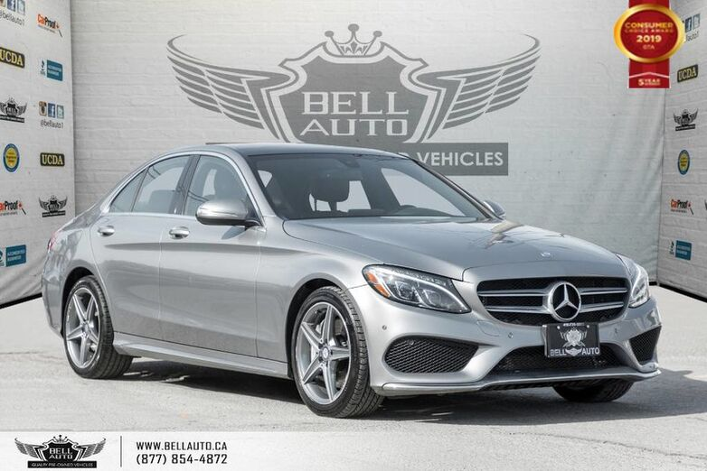 2015 Mercedes-Benz C-Class C 300, NO ACCIDENT, AWD, NAVI, BACK-UP CAM, SENSORS Toronto ON