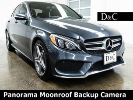 2015 Mercedes-Benz C-Class C 300 Panorama Moonroof Backup Camera