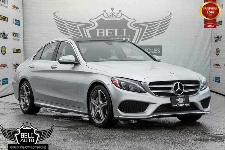 2015 Mercedes-Benz C-Class C 300 SPORT PKG INTERIOR PKG, NAVI, BACK-UP CAM, MOONROOF Toronto ON