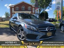 2015_Mercedes-Benz_C-Class_C 300|$128Wk|Navi|Backup|DualShift|HtdLthrSts|PanoRoof_ London ON