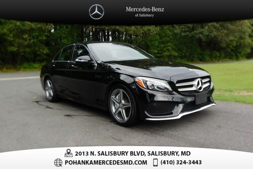 2015_Mercedes-Benz_C-Class_C 3004MATIC® ** 10 YEARS / UP TO 100,000 POWERTRAIN WARRANTY **_ Salisbury MD