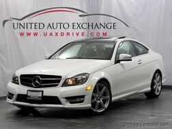 2015_Mercedes-Benz_C-Class_C 350 Coupe / 3.5L V6 Engine / AWD 4Matic / Navigation / Bluetooth / Panoramic Sunroof / Harman Kardon Premium Sound System_ Addison IL