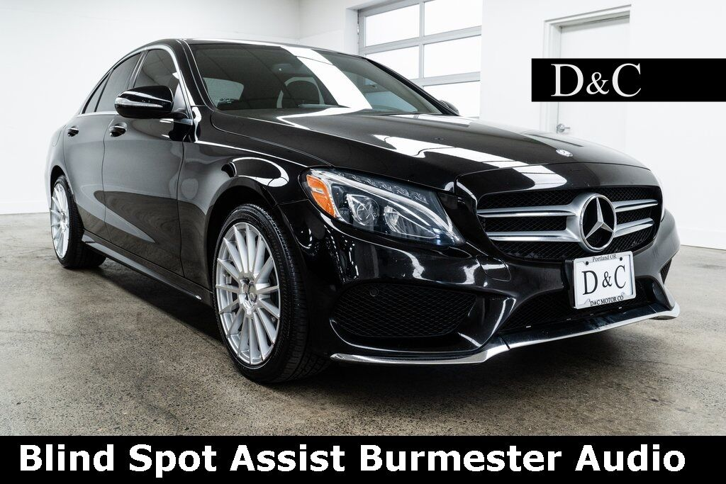 2015 Mercedes-Benz C-Class C 400 4MATIC Blind Spot Assist Burmester Audio Portland OR