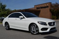 Mercedes-Benz C-Class C 400/AWD/329 Twin Turbo HP/29 MPG/Blind Spot Monitor/AMG Sport Pkg/Panoramic Sunroof/Burmester Sound/Command Nav/Rear View Cam/Heated Seats/Loaded 2015