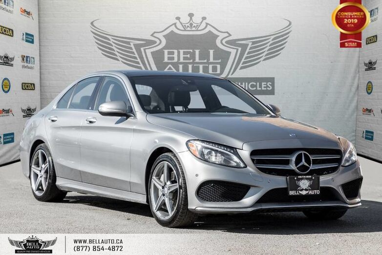 2015 Mercedes-Benz C-Class C 400, NO ACCIDENT, AWD, NAVI, BACK-UP CAM Toronto ON