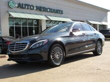 2015_Mercedes-Benz_C-Class_C300 4MATIC Sedan 2.0L 4CYL AUTOMATIC, TURBO,NAVIGATION SYSTEM, BLUETOOTH CONNECTION, PANORAMIC ROOF_ Plano TX