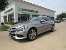 2015_Mercedes-Benz_C-Class_C300 4MATIC Sedan LEATHER, HTD FRONT SEATS, CLIMATE CONTROL, BLUETOOTH CONNECTIVITY, PREMIUM SOUND_ Plano TX