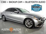2015 Mercedes-Benz C-Class C300 Sedan *BACKUP-CAMERA, COLLISION PREVENTION ASSIST, STEERING WHEEL CONTROLS, CRUISE CONTROL, ALLOY WHEELS, BLUETOOTH PHONE & AUDIO