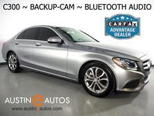 Mercedes-Benz C-Class C300 Sedan *BACKUP-CAMERA, COLLISION PREVENTION ASSIST, STEERING WHEEL CONTROLS, CRUISE CONTROL, ALLOY WHEELS, BLUETOOTH PHONE & AUDIO 2015