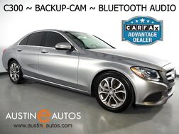 2015_Mercedes-Benz_C-Class C300 Sedan_*BACKUP-CAMERA, COLLISION PREVENTION ASSIST, STEERING WHEEL CONTROLS, CRUISE CONTROL, ALLOY WHEELS, BLUETOOTH PHONE & AUDIO_ Round Rock TX