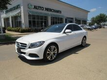 2015_Mercedes-Benz_C-Class_C300 Sedan LEATHER, PANORAMIC SUNROOF, BACKUP CAMERA, BLIND SPOT MONITOR, HTD FRONT SEATS_ Plano TX