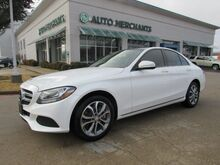 2015_Mercedes-Benz_C-Class_C300 Sedan NAV, PANORAMIC, BLIND SPOT, BACKUP CAM, AUX, SAT RADIO, BLUETOOTH, LEATHER_ Plano TX