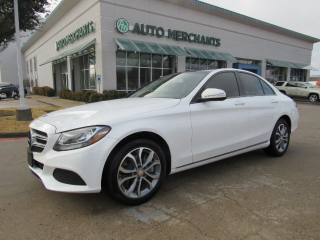 2015 Mercedes-Benz C-Class C300 Sedan NAV, PANORAMIC, BLIND SPOT, BACKUP CAM, AUX, SAT RADIO, BLUETOOTH, LEATHER Plano TX