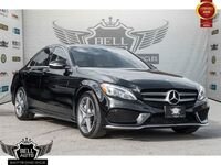 2015 Mercedes-Benz C300 4MATIC AMG PKG PARKTRONIC NAVI PANO SUNROOF LEATHER