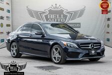 2015 Mercedes-Benz C300 4MATIC AMG PKG SPORT SEATS NAVI PANO-SUNROOF LEATHER