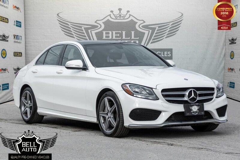 2015 Mercedes-Benz C300 4MATIC AMG SPORT SEATS NAVIGATION SUNROOF LEATHER BACK-UP CAMERA