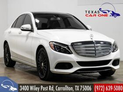 2015_Mercedes-Benz_C300 4MATIC_AWD LUXURY NAVIGATION COLLISION PREVENTION ASSIT PLUS BLIND SPOT ASSIST_ Carrollton TX