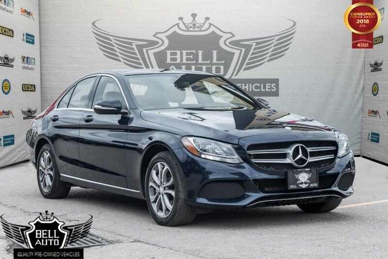 2015 Mercedes-Benz C300 4MATIC SPORT NAVI PANO SUNROOF LEATHER BLIND SPOT