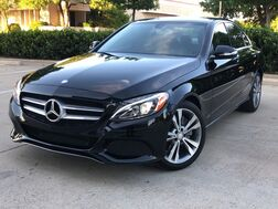 2015_Mercedes-Benz_C300_PREMIUM PACKAGE SPORT PACKAGE NAVIGATION KEYLESS GO LEATHER SEATS HEATED SEATS REAR CAMERA WITH PARKING GUIDANCE BURMESTER PREMIUM SURROUND SOUND SYSTEM_ Addison TX