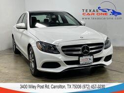 2015_Mercedes-Benz_C300_SPORT NAVIGATION PANORAMA LEATHER SEATS REAR CAMERA KEYLESS GO BLUETOOTH_ Carrollton TX