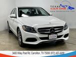 2015 Mercedes-Benz C300 SPORT NAVIGATION PANORAMA LEATHER SEATS REAR CAMERA KEYLESS GO BLUETOOTH