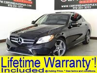 Mercedes-Benz C300 SPORT PACKAGE AMG WHEEL PACKAGE PANORAMIC ROOF NAVIGATION REAR CAMERA 2015