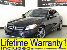 2015_Mercedes-Benz_C300_SPORT PACKAGE AMG WHEEL PACKAGE PANORAMIC ROOF NAVIGATION REAR CAMERA_ Carrollton TX