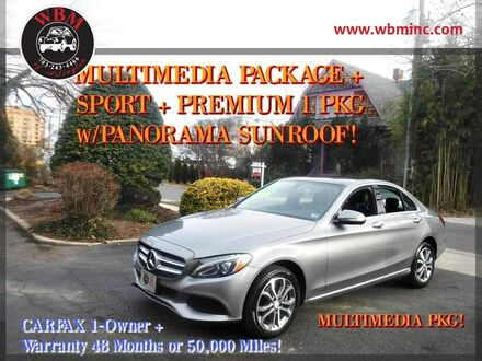2015_Mercedes-Benz_C300_Sport 4MATIC Sedan_ Arlington VA