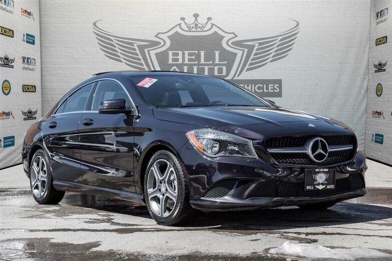 2015 Mercedes-Benz CLA 250 4MATIC NAVIGATION PANORAMIC SUNROOF LEATHER Toronto ON